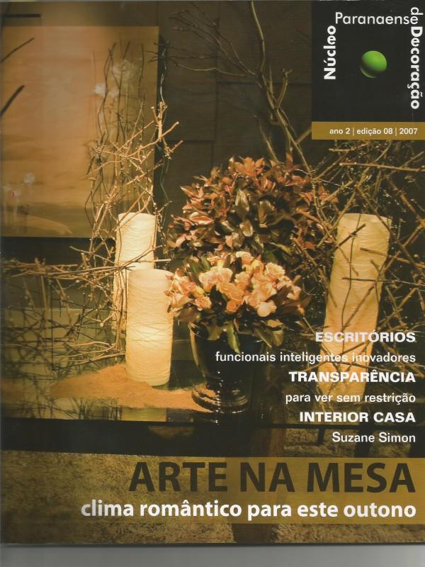 Revista Nucleo Paranaense de Decoracao0000